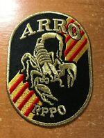 SPAIN VALENCIA PATCH POLICE POLICIA - SWAT SRT ARRO RPPO - ORIGINAL!