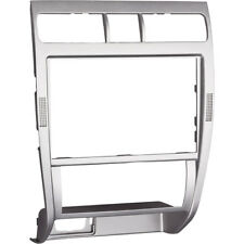 Seat Leon Toledo 1M Mittelkonsole Blende Doppel DIN / Navi Alu Silber