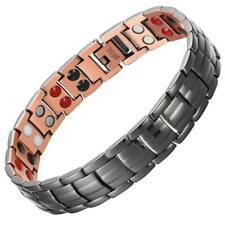 Classic 4in1 Black Copper Magnetic Bracelet For Arthritis Pain Bio Energy
