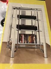 Home Theater AV Equipment Tower Rack MANHETTEN AUDIO TOWER MOD 23227-4T