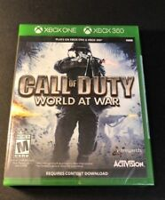 Call of Duty World at War [ G2 Case ] (XBOX ONE) NEW