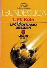 BL 91/92 Dynamo Dresden - 1. FC Köln, 16.05.1992