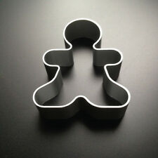 Ginger Bread Man Cookie Cutter Aluminium Metal Pastry Biscuit Baking Mold Mould