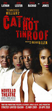 """James Earl Jones """"CAT ON A HOT TIN ROOF"""" Tennessee Williams 2009 London Flyer"""