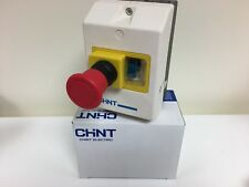 Chint Manual Motor Starter Emergency Stop Enclosure Control Panel/Inc 4-6.3 Amp