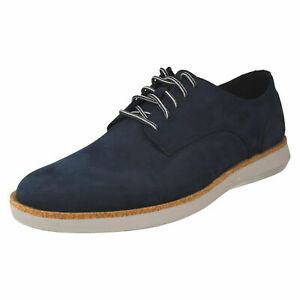 MENS CLARKS FAIRFORD RUN LACE UP SMART CLASSIC DRESS SHOES CASUAL WORK SIZE