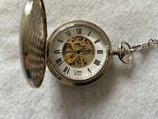 Up Vintage Pocket Watch Colibri 19 Jewels Mechanical Wind