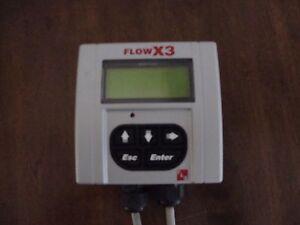 FLS FLOWX3 F9.00   Flow Monitor & Transmitter