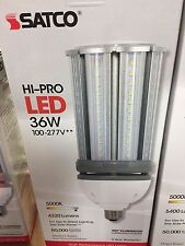 Satco S9392 - 36W/LED/HID/5000K/100-277V S9390 HID Replacement LED Light Bulb