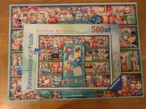Kitschy Kitchen - Ravensburger– 500 Piece Jigsaw Puzzle. Very good condition