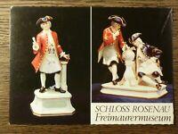 AK alte Ansichtskarte Freimaurer Freimaurermuseum Schloss Rosenau Österreich