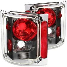 ANZO TAIL LIGHTS BLACK FOR 73-87 CHEVY/GMC C/K 10/15/20/30 PICKUP #211016