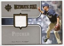 2007 ULTIMATE COLLECTION STAR MATERIALS JERSEY Jake Peavy #SMPE