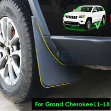 Set Mud Flaps Mudflaps For Jeep Grand Cherokee 11-18 Mudguards Guards Black