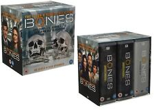 BONES  1-12 2005-2017: COMPLETE Flesh & Bones Series Collection - UK DVD not US