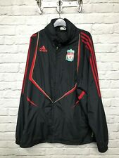 Adidas Liverpool Football Club black rain coat size 44/46