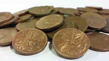 FULL ROLL 1978 CANADA ONE CENT PENNIES CIRCULATED