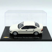 IXO Altaya Chevrolet Vectra GLS 2.2 1998 Models Diecast Toys Car White 1:43