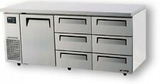 NEW Turbo Air Undercounter 1 Door 6 Drawers Fridge **FREE DELIVERY**