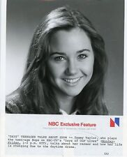 TAMMY TAYLOR CUTE SMILING PORTRAIT DAYS OF OUR LIVES ORIGINAL 1981 NBC TV PHOTO