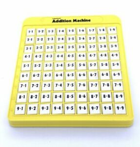 Lakeshore Addition Machine - Math Learning Addition Education Toy - Fun To Use!