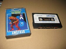 Lot of 6 Video Games of Amstrad Amsoft See List and Photos