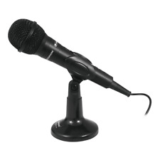 Omnitronic M-22 USB Vocal Microphone Speech inc Stand for Video Call Zoom Skype