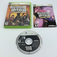 Guitar Hero III: Legends of Rock 3 (Microsoft Xbox 360, 2007) Complete CIB