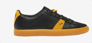 PUMA X DISTINCT LIFE CLYDE 382211-01 puma black/yello Mens lifestyle Shoes 8-14