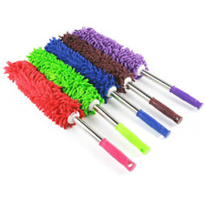 Microfiber Duster EXTENDABLE TELESCOPIC Home Car Dust Cleaning Brush Blinds Fan