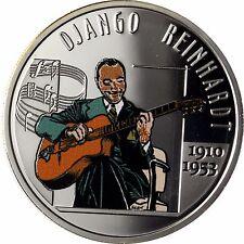 Belgien 10 Euro Silber 2010 PP 100. Geburtstag von Django Reinhardt