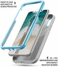 For iPhone X (2017) Case Blue Poetic【Revolution】Shock Absorbing Rugged TPU Cover