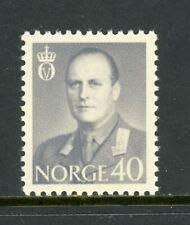 Norway Scott #410 MNH King Olav V 40o CV$5+