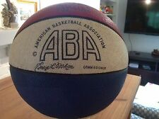 1967-69 ABA Mikan Game-Used/Personally Owned Basketball Signed by Mikan Psa/Dna!