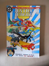 JUSTICE LEAGUE Lega della Giustizia n°1 1990 Dc Play Press  [G866]