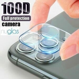 Nuglas Apple iPhone 12 11 XS XR Max Camera Lens Tempered Glass Screen Protector