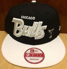 New Era 950 Chicago Bulls Color White / Black - Size Adult Snapback Hat