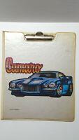 Roach Brand Camaro Clip Board Clipboard Rare Vintage 1970s Original