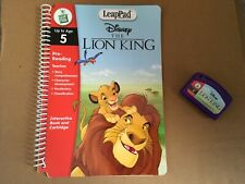 LEAP PAD LEAP FROG DISNEY THE LION KING INTERACTIVE BOOK & CARTRIDGE GAME
