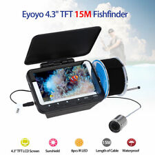 "Eyoyo 4.3"" 15M LCD Ice/Sea/Boat/Ocean Fishing Camera Fish Finder Detector Depth"