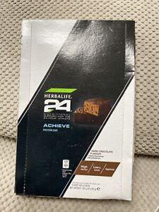 Herbalife ACHIEVE 24 Dark Chocolate Protein bars x 6