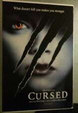 CURSED (2005) Wes Craven, Christina Ricci DS One Sheet