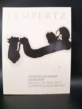 LEMPERTZ Asiatische Kunst Asian Art 9 10 Juni 2011 Auction Catalog Chinese