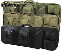 "33"" Tactical Rifle Gun Shotgun Bag Backpack Carrying Case Military Hunting Pouch"