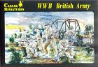 Caesar Miniatures 1/72 WW2 Británico Infantería
