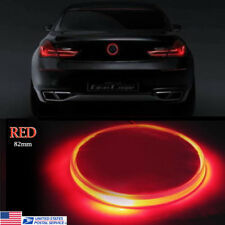1x 82mm Red Emblem LED Background Light For BMW 3 4 5 6 7 X M Z Series 12v