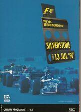1997 Formula-1 The British Grand Prix Silverstone Program