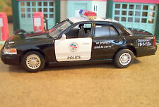 New  O Scale FORD CROWN VICTORIA POLICE INTERCEPTOR