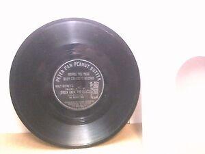 Disneyana - Old 45 RPM Record - Wonderland DF 100 A - Peter Pan Peanut Butter