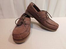RED HEAD Brown Leather MOCS Casual  Shoes  MEN'S Size 12M